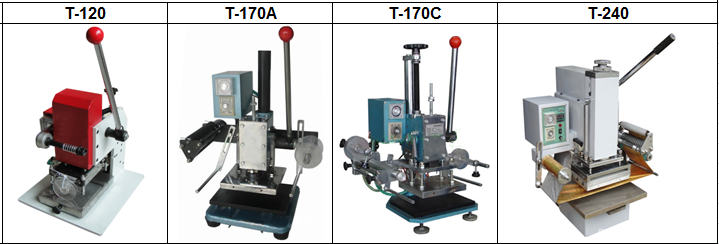 manual hot stamping